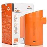 Tbest Mini Pompe À Air Électrique À Main, Portable 2 en 1 Mini USB Gonfleur Pompe À Air pour Camping Matelas Pagaie Piscines Jouets(Charge directe)