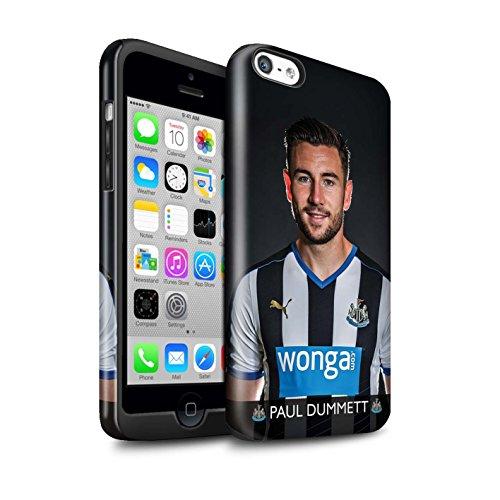 Officiel Newcastle United FC Coque / Brillant Robuste Antichoc Etui pour Apple iPhone 5C / Pack 25pcs Design / NUFC Joueur Football 15/16 Collection Dummett