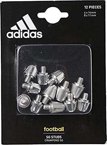 Ace/X TRX Crampons Aluminium 14mm + 11mm - Paquet de 12