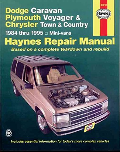 dodge-caravan-and-plymouth-voyager-automotive-repair-manual-by-author-curt-choate-published-on-septe