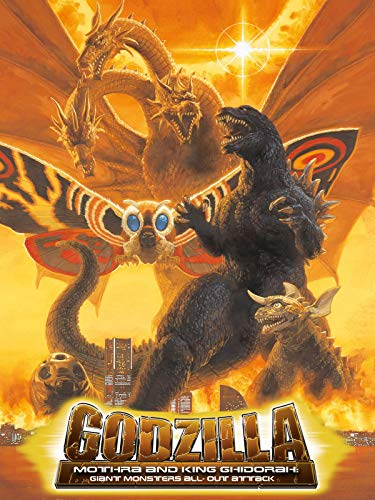 Godzilla, Mothra and King Ghidorah: Giant Monsters All-Out Attack - Von New Monster York