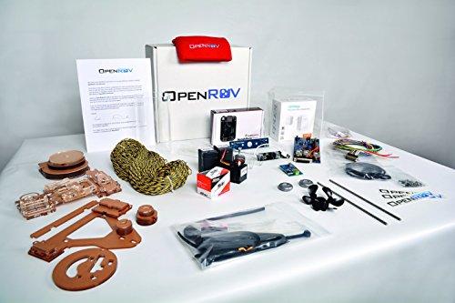 Kit para montar tu propio robot submarino OpenROV