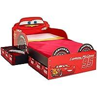 Disney CARS Toddler Bed Storage Kinderbett Bett Lightning McQueen Aufbewahrungsschubladen Auto