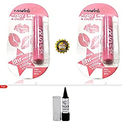 Mars Rosy Lips Color Balm Pink Lolita Buy 1 Get 1 Free With Kajal