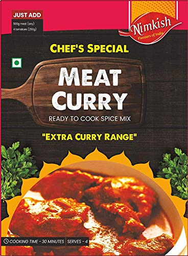 Nimkish Meat Curry Masala, SPLs 40g Chef. Extra-Curry-Strecke
