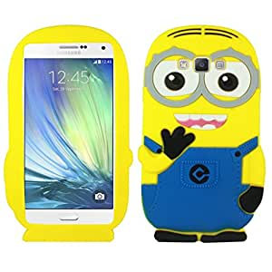 mobbysol Samsung Galaxy j2(2015) Cute Cartoon Despicable Me Minion Back Case Cover by mobbysol