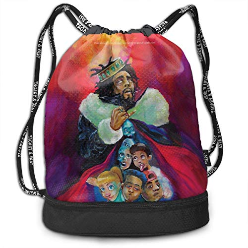 Sporttaschen, Rucksäcke,Fashion Outdoor Shopping Satchel Rucksack Backpack Bundle Pocket Drawstring Bag Daypack, J-Cole