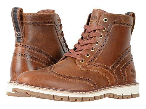 TimberlandBritton Hill Moc Toe Wp Boot - Britton Hill Moc Toe Wp Stiefel Herren, Schwarz (Medium Brown Full Grain), 24 D(M) EU Boot Mocs Mocs