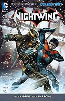 Nightwing Vol. 2: Night of the Owls (The New 52) by [HIGGINS, KYLE, EDDIE BORROWS, RUY JOSE]