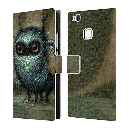 Head Case Designs Offizielle Jason Limon Jagd Aliens Brieftasche Handyhülle aus Leder für Huawei P9 Lite / G9 Lite