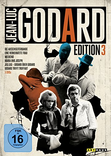 Bild von Jean-Luc Godard Edition 3 [5 DVDs]