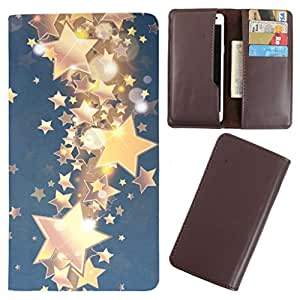 DooDa - For XOLO Q700 Club PU Leather Designer Fashionable Fancy Case Cover Pouch With Card & Cash Slots & Smooth Inner Velvet