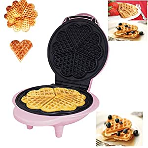 Unibos NEW WAFFLE MAKER IRON PRESS MACHINE BREAKFAST FOOD NON STICK BAKER GRILL BELGIAN