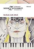 Bernhard, Jandl, Jelinek: Österreichische Musikzeitschrift 05/2015 (ÖMZ 05/2015)