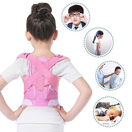 Haltung Korrektoren, Rücken Schulter Lendenwirbelsäule Unterstützung Gürtel Knochenverletzung Korrektur Begradigen Oberen Rücken Slouching Korrektive Prvent Kinder Buckel(M)