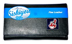 MLB Cleveland Indians Women's Leather Wallet