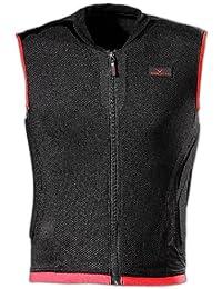 Black Canyon - Chaleco protector para jóvenes y adultos negro blanco / rojo Talla:medium