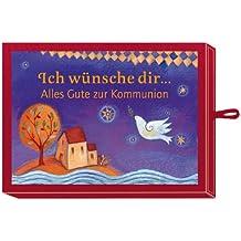 Ich wünsche dir ... Alles Gute zur Kommunion (rot): (Verkaufseinheit)
