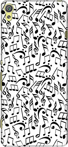 The Racoon Lean printed designer hard back mobile phone case cover for Sony Xperia XA. (Music Jumb)