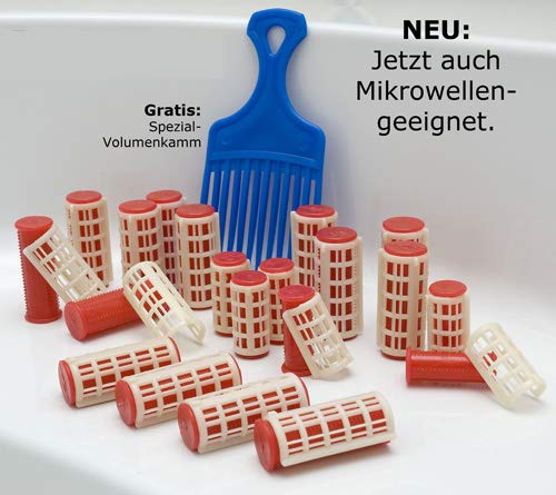 Thermo Locken Wickler, Lockenwickler, Thermo Lockenwickler, Microwellen geeignet, Locken Wickler