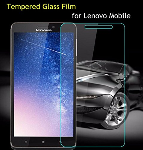 MOBIRUSH (Pack of 2) Present Premium Anti-Scratch High Definition Bubble Free Anti-Fingerprint Tempered Glass Screen Guard Protector for Lenovo A6000