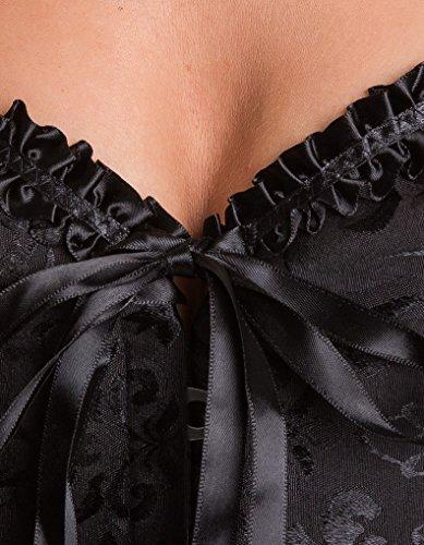 Intimax Damen Bustier Corset Atenea Negro Black