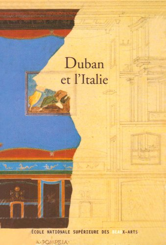 Duban et l'Italie : exposition, Paris