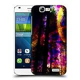 Offizielle Haroulita Saturn Blitzschlag Fantasy 4 Ruckseite Hülle für Huawei Ascend G7