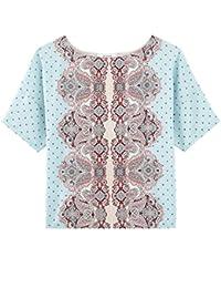 Promod Bluse aus Materialmix