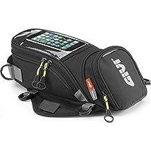 Givi EA106B Easy Bag Bolso Magnético Depósito, Volumen 6 Litros, Carga Máxima 2 Kg