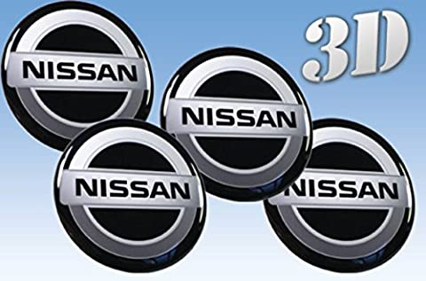 Wheel stickers Nissan imitation all size Centre Cap Logo Badge