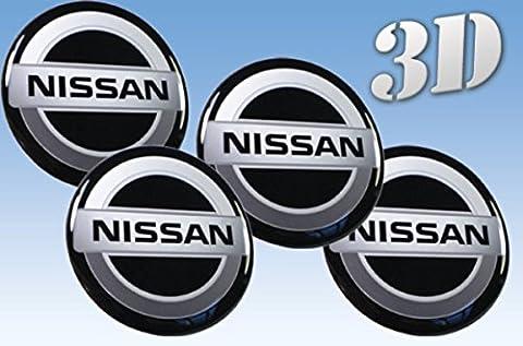 pegatinas rueda del emblema de Nissan de todos los tamaños