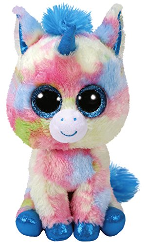 Beanie Boo Unicorn - Blitz - Multicoloured - 15cm 6""