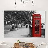 Bilderwelten Cuadro en lienzo - Telephone - Apaisado 2:3, cuadros cuadro lienzo cuadro sobre lienzo cuadro moderno cuadro decoracion cuadros decorativos cuadro xxl, Tamaño: 80 x 120cm