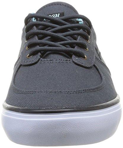 Lakai - Parker, Scarpe da skateboard da uomo grigio(Grey (Phantom Canvas))