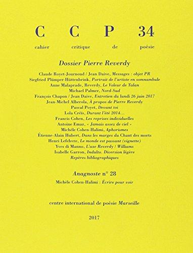 Cahier critique de posie: Dossier Pierre Reverdy