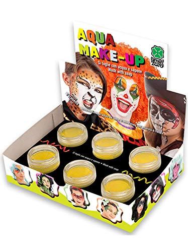 Carnival T. Make-up Profi gelb