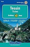Holiday Map Tessin 1 : 120 000. Ausflugs- und Touristikkarte. (Kümmerly+Frey Holiday Map)