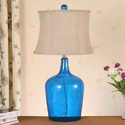 Modell Wein (WTL Lighting Einfache moderne transparente Glas-Wein-Tischlampe Mode Startseite Modell Wohnzimmer Tischlampe Glas Schlafzimmer Nachttischlampe Schreibtischlampe ( Farbe : 1 ))