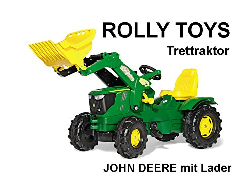 Preisvergleich Produktbild RollyToys Rolly Farmtrac John Deere 6210 R mit Frontlader