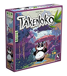 Asmodee - Takenoko, Juego de Mesa (versión en alemán)