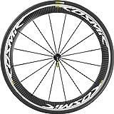 Mavic 2016 Cosmic Pro Carbon Front Road Bicycle Wheel (White - 25) by Mavic