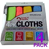 PACK 4 - MICROFIBRE CLOTH