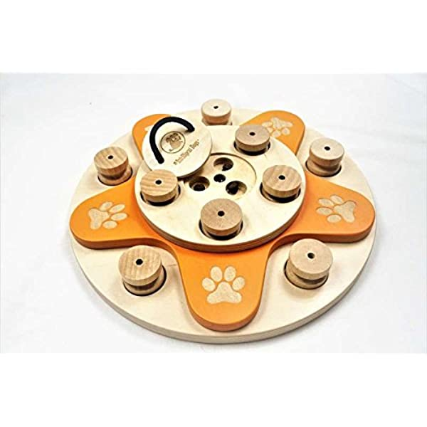 My Intelligent Dogs interactive dog toy made of wood, DOG