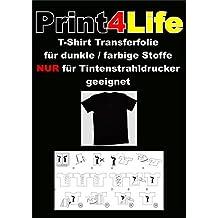 10 fogli di formato A4 T-Shirt Transfer Carta per Dark