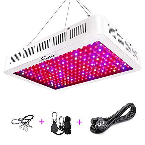 KINGBO 2000W Doppel Chips LED Grow Light Vollem Spektrum LED Pflanzenlampe mit Rope Hanger for Indoor Greenhouse Hydroponic Plants Veg and Flower