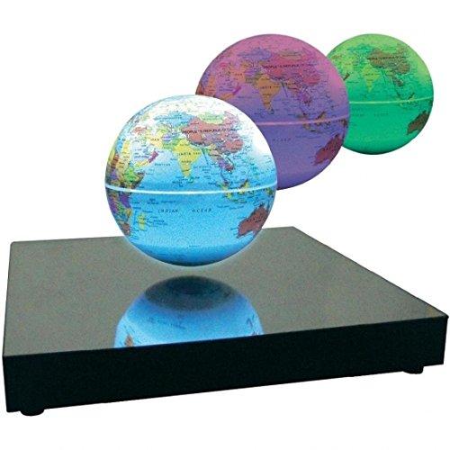 Preisvergleich Produktbild Magnetisch schwebender LED-Globus leuchtend mit Button I MISS YOU