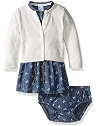 Carter's Baby Girls' Dress Sets 121g882, Denim, 6 Months