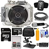 Intova Connex 1080p HD 60m/200ft Waterproof Video Action Camera Camcorder & Remote +