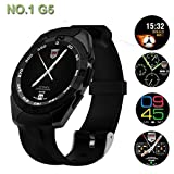 Smartron srt.phone COMPATIBLE Smartwatch G5 With SIM and Camera Card Slot Support | Analogue with Android and iPhone| WhatsApp and Facebook| Activity Tracker | Fitness Band | New Arrival Best Selling High Quality Available At Lowest Price BY VELL- TECH Amazon Rs. 3999.00